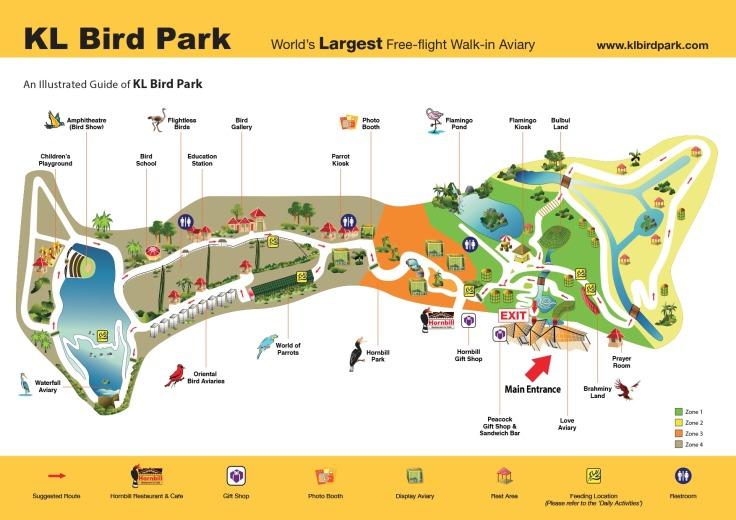 kl-bird-park-map
